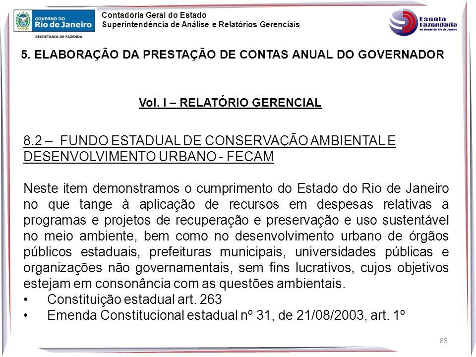 Constituição estadual art. 263