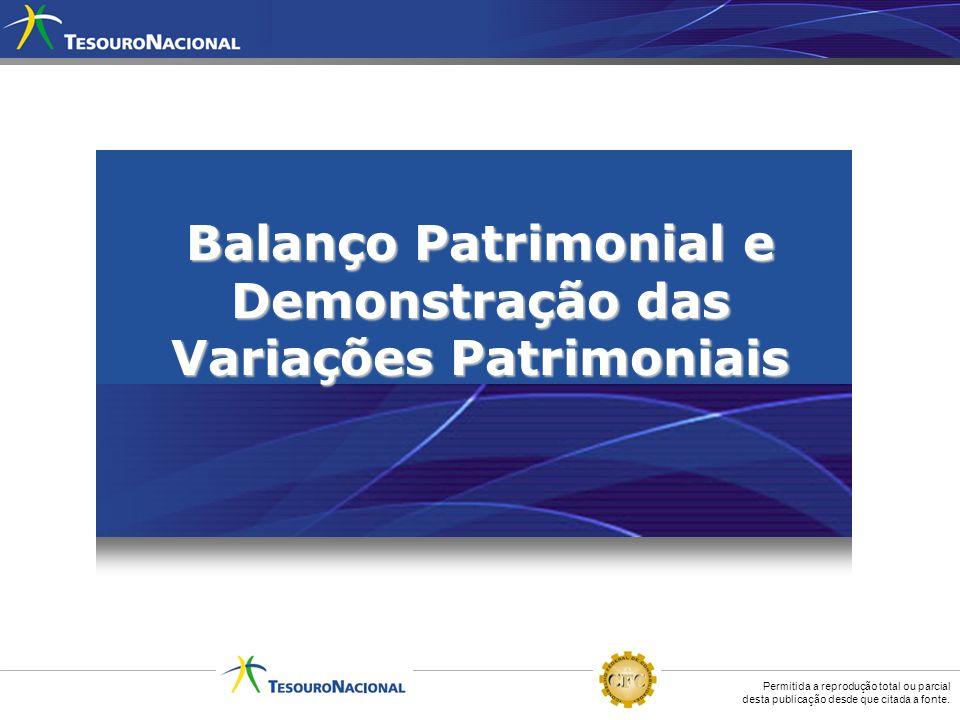 Balanço Patrimonial e Demonstração das Variações Patrimoniais