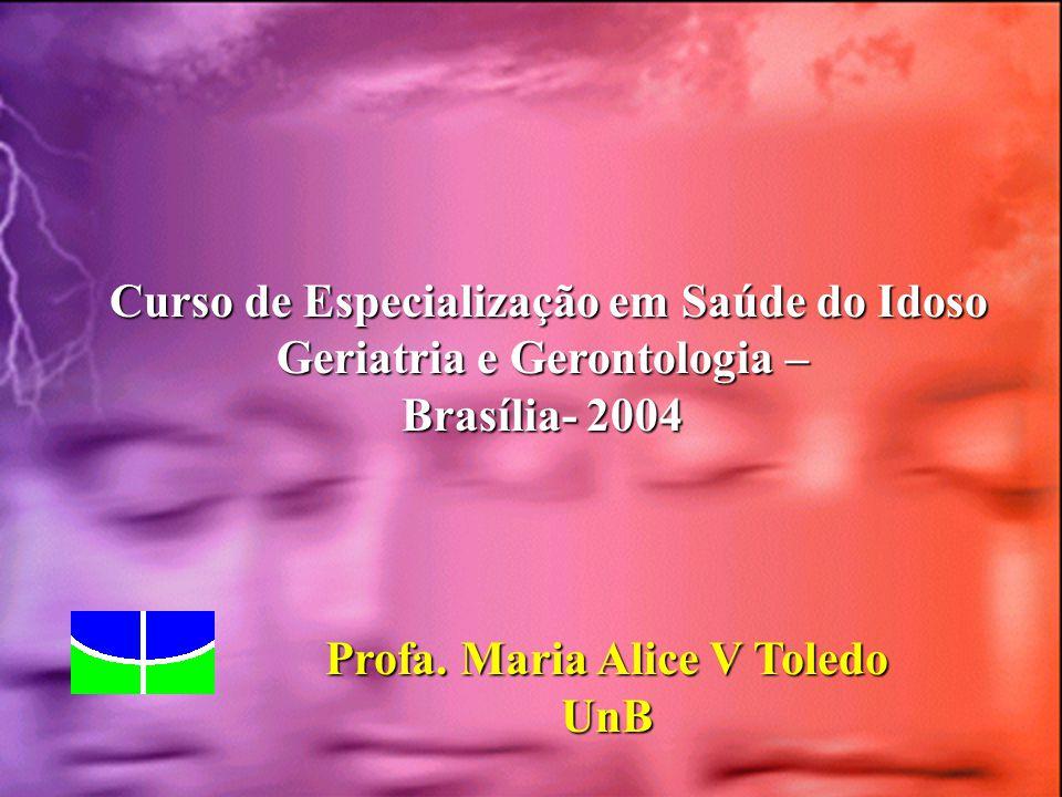 Curso de Especialização em Saúde do Idoso Geriatria e Gerontologia –