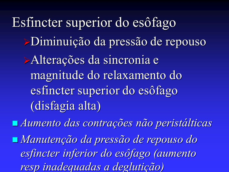 Esfincter superior do esôfago