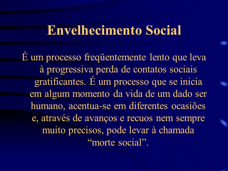 Envelhecimento Social