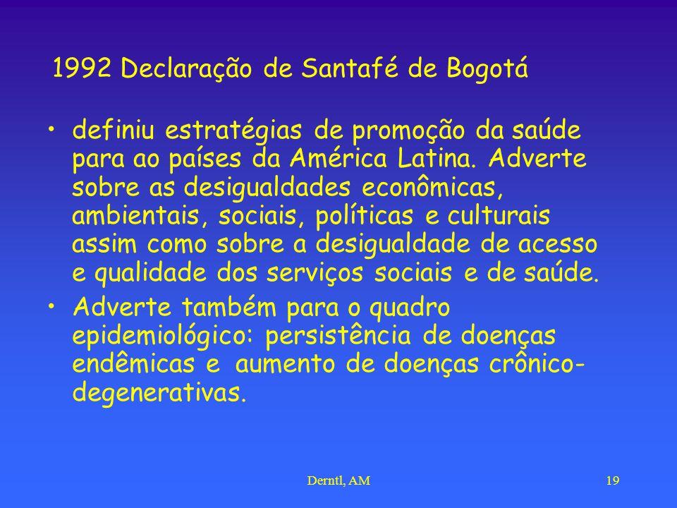 1992 Declaração de Santafé de Bogotá