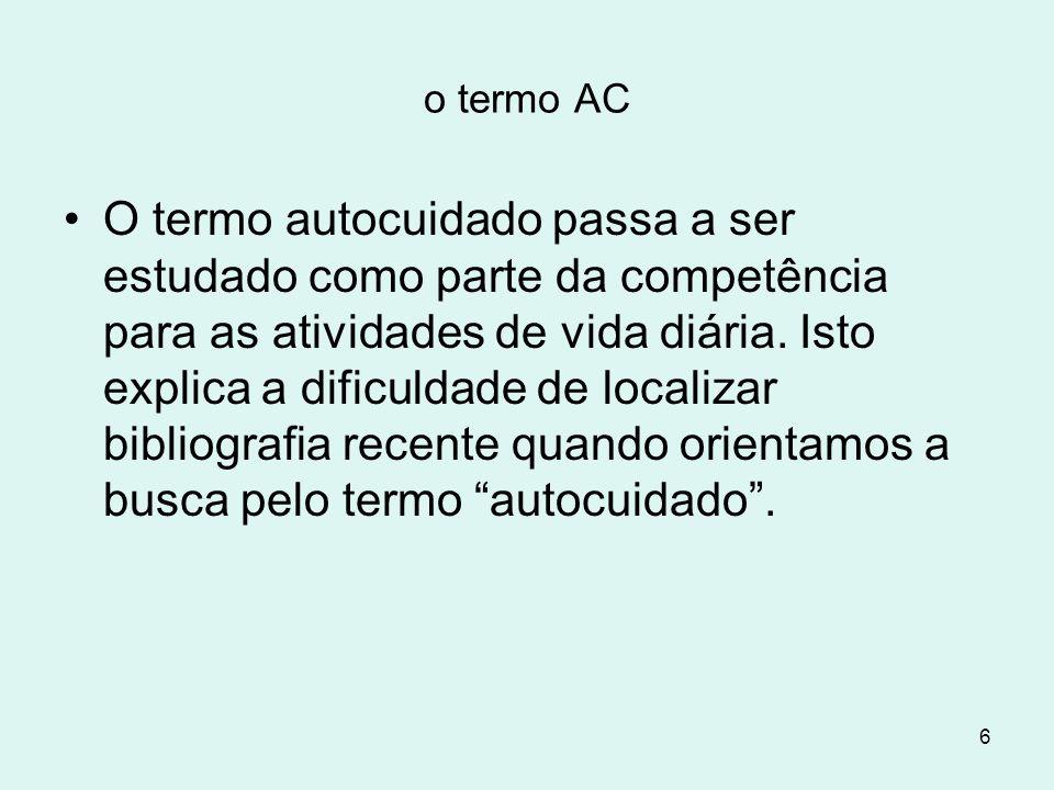 o termo AC