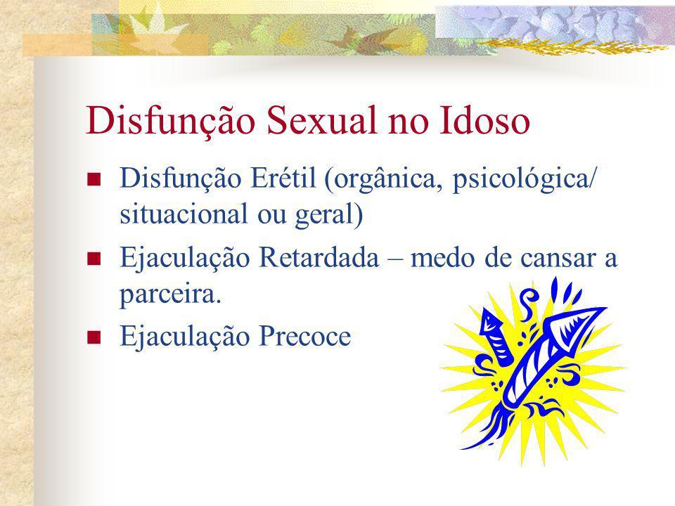 Disfunção Sexual no Idoso