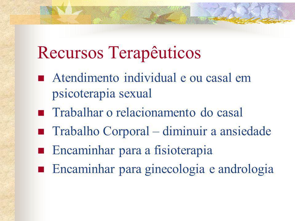 Recursos Terapêuticos