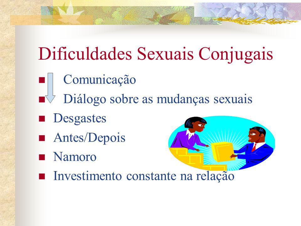 Dificuldades Sexuais Conjugais