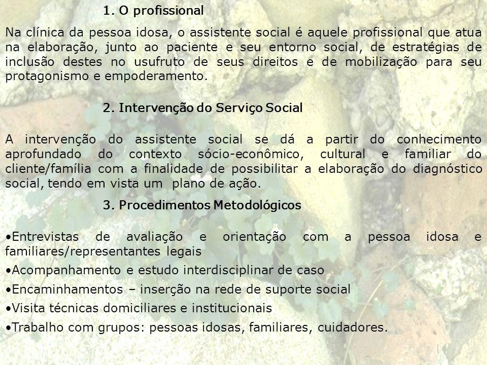 1. O profissional
