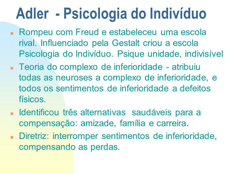 Adler - Psicologia do Indivíduo