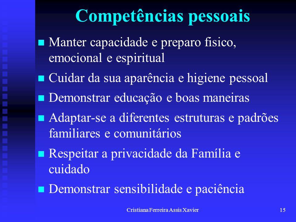 Competências pessoais