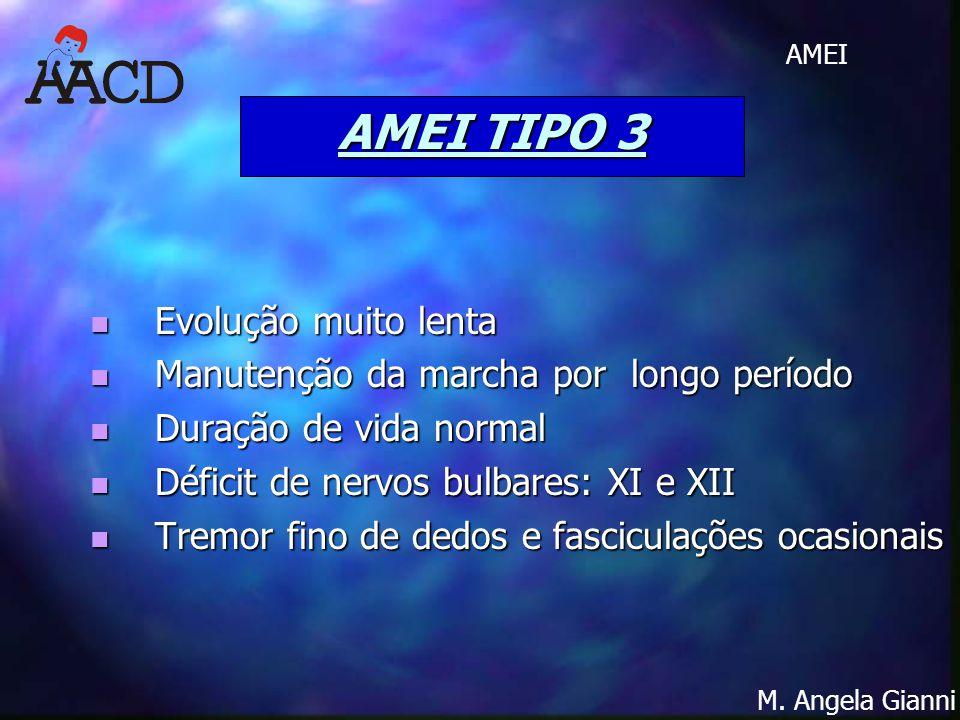AMEI TIPO 3 Evolução muito lenta