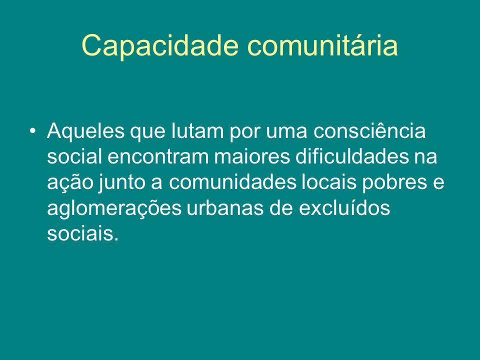 Capacidade comunitária