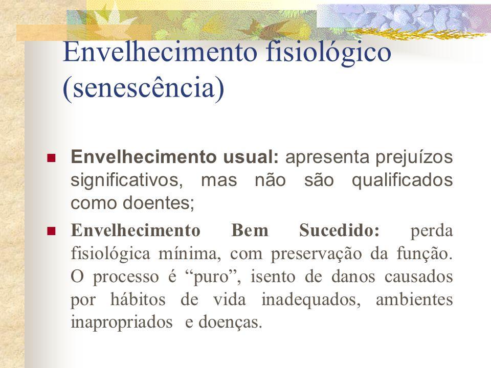 Envelhecimento fisiológico (senescência)