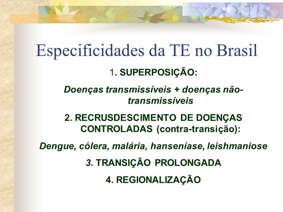 Especificidades da TE no Brasil