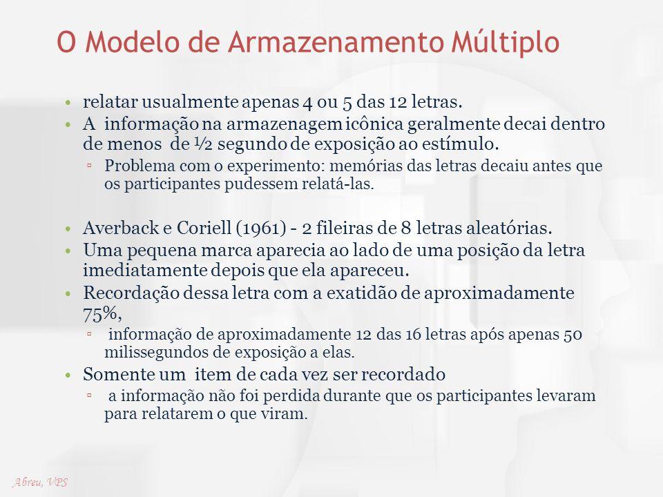 O Modelo de Armazenamento Múltiplo