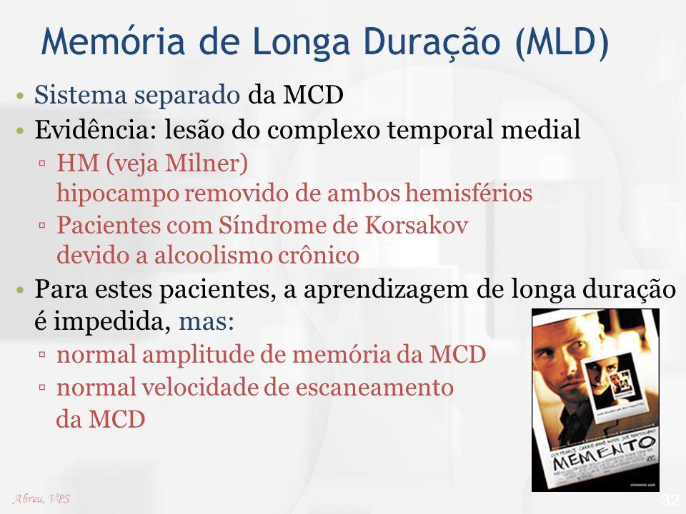 Memória de Longa Duração (MLD)
