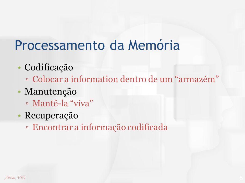 Processamento da Memória