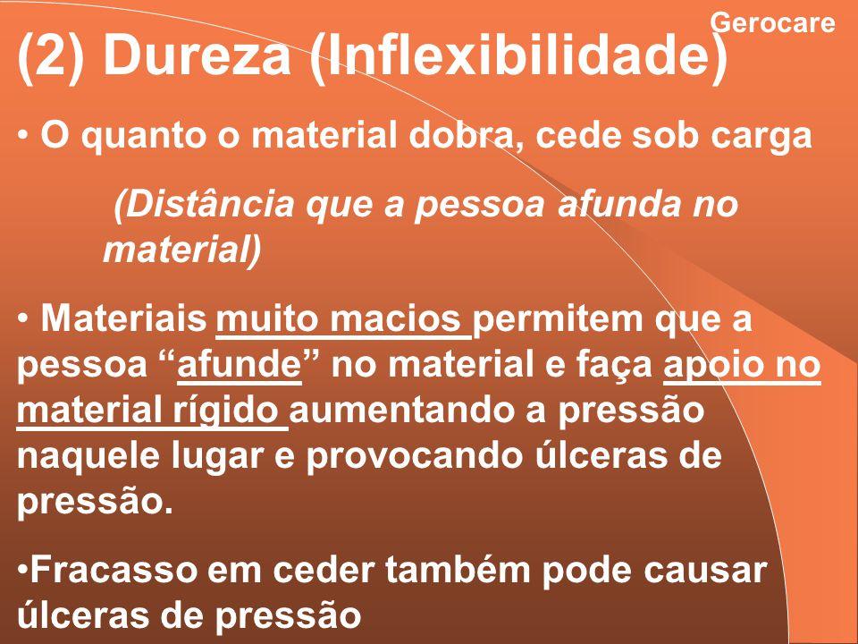 (2) Dureza (Inflexibilidade)