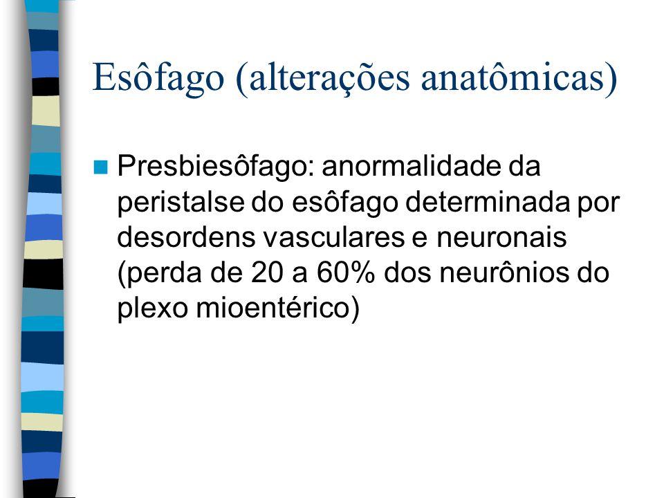 Esôfago (alterações anatômicas)