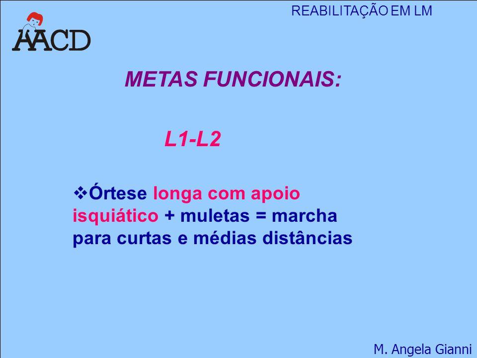 METAS FUNCIONAIS: L1-L2.
