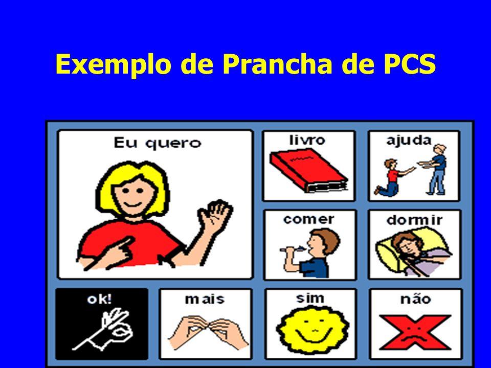 Exemplo de Prancha de PCS