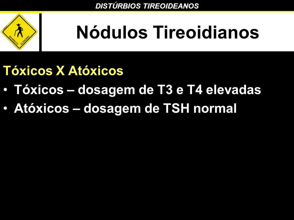Nódulos Tireoidianos Tóxicos X Atóxicos