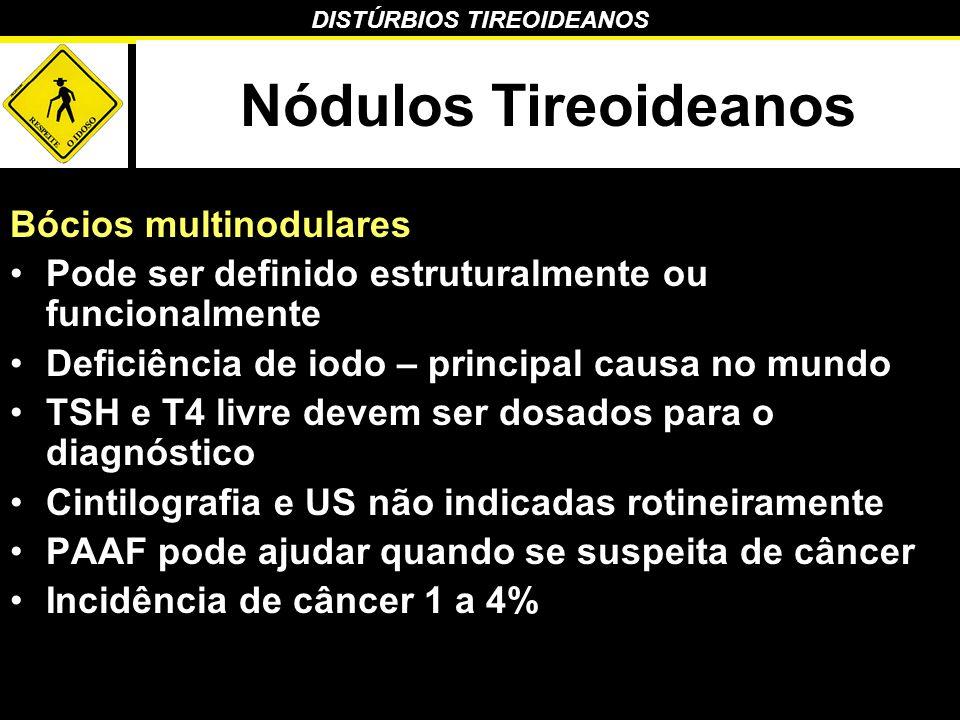 Nódulos Tireoideanos Bócios multinodulares