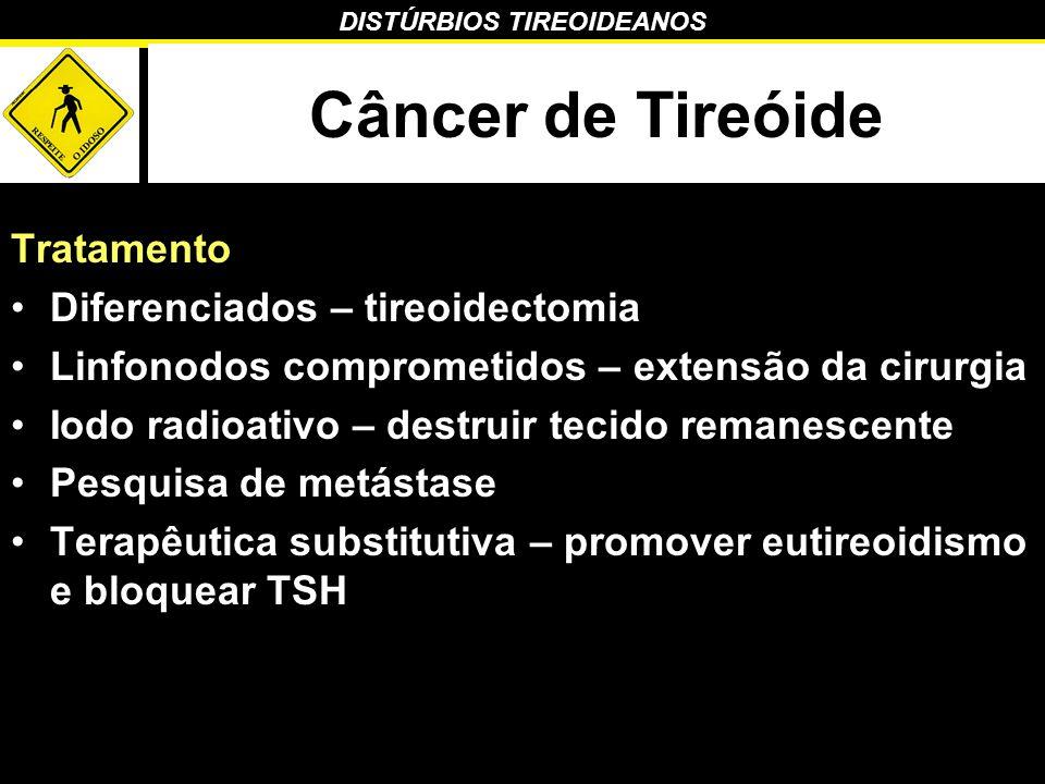 Câncer de Tireóide Tratamento Diferenciados – tireoidectomia