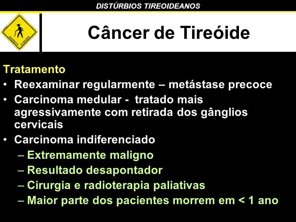 Câncer de Tireóide Tratamento