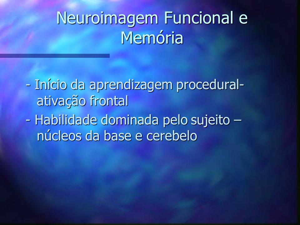 Neuroimagem Funcional e Memória