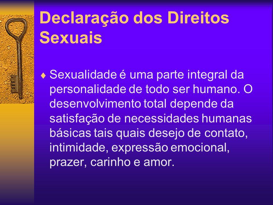 Declaração dos Direitos Sexuais