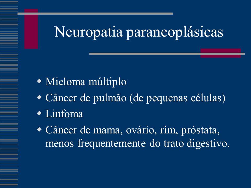 Neuropatia paraneoplásicas