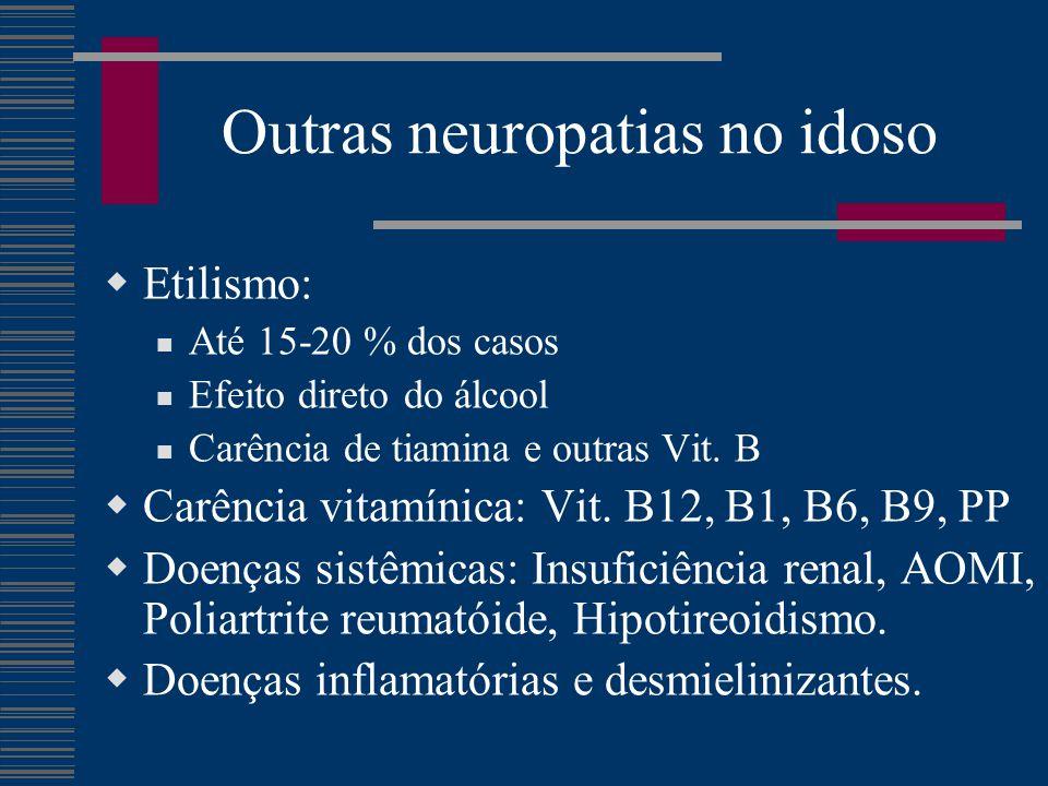 Outras neuropatias no idoso