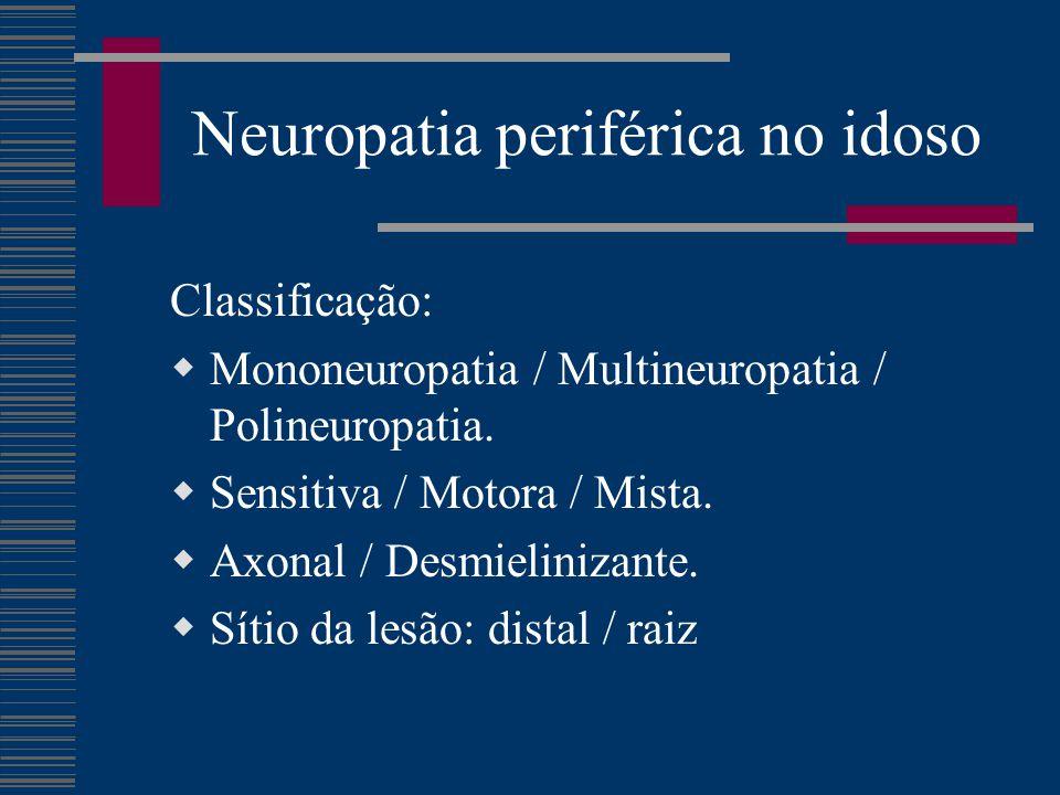 Neuropatia periférica no idoso