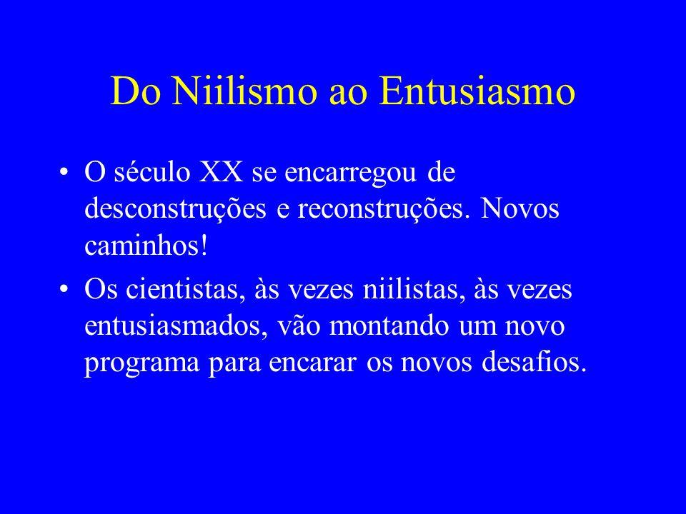 Do Niilismo ao Entusiasmo