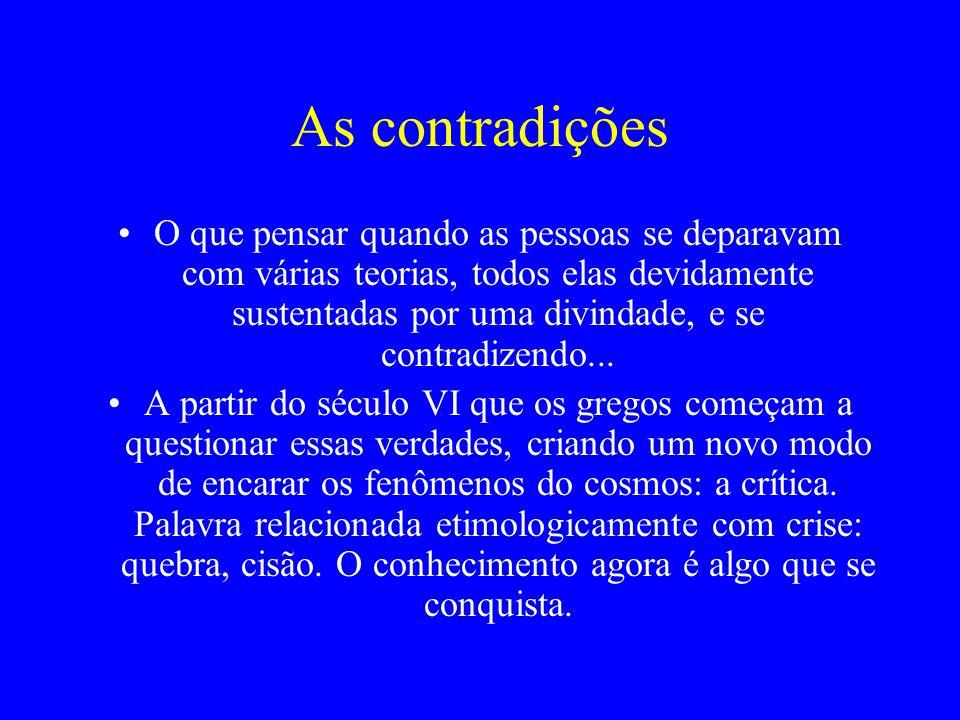 As contradições