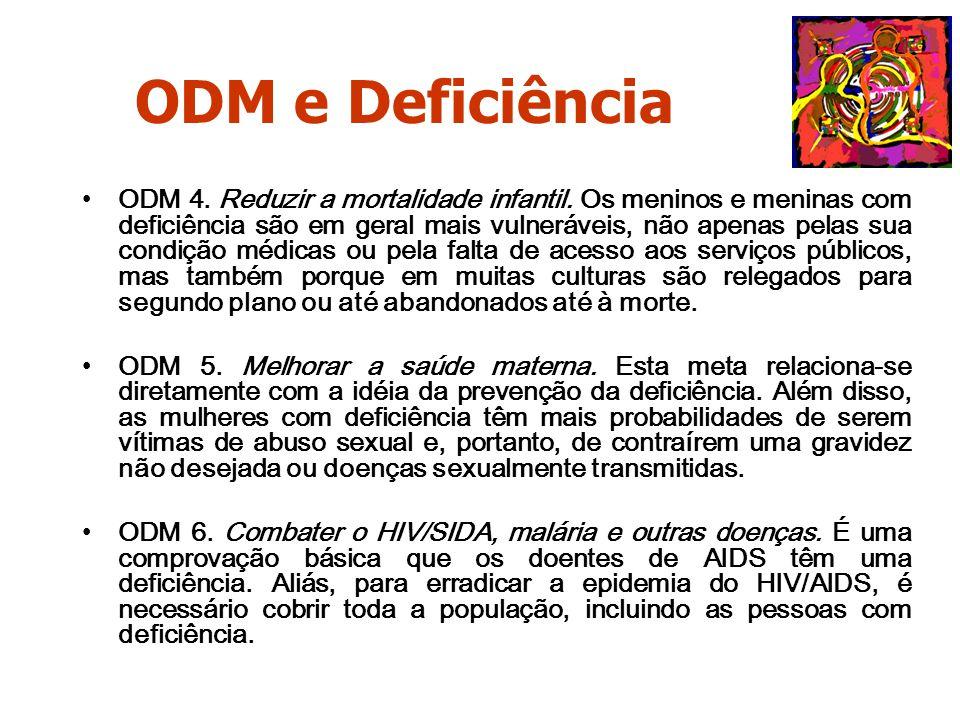 ODM e Deficiência