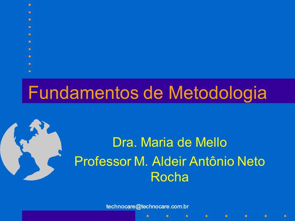 Fundamentos de Metodologia