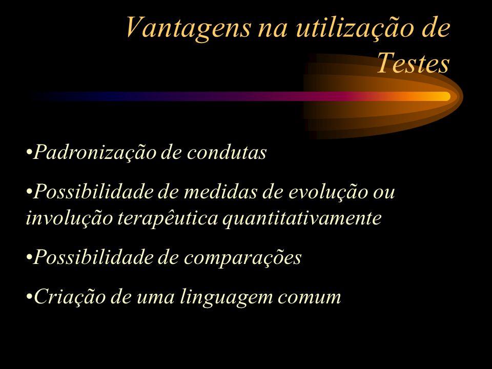 Vantagens na utilização de Testes