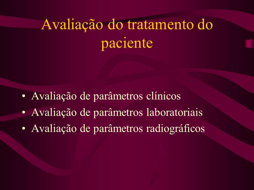 Avaliação do tratamento do paciente