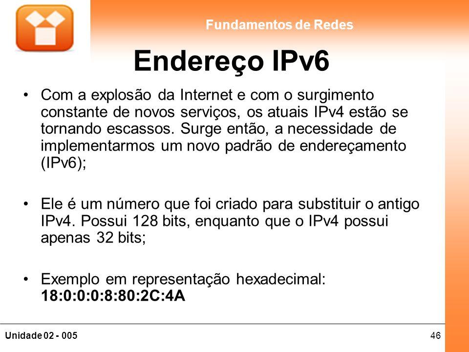 Endereço IPv6