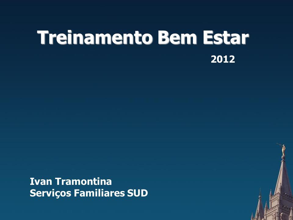 Treinamento Bem Estar 2012 Ivan Tramontina Serviços Familiares SUD