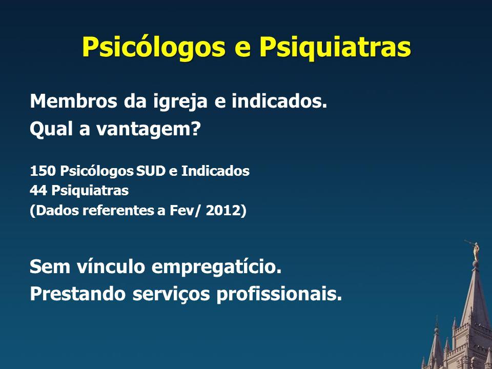 Psicólogos e Psiquiatras
