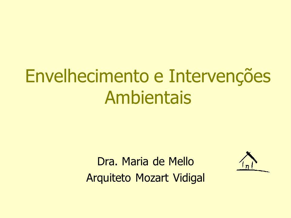Envelhecimento e Intervenções Ambientais