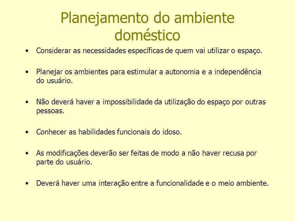 Planejamento do ambiente doméstico