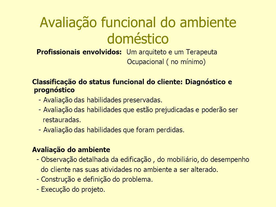 Avaliação funcional do ambiente doméstico