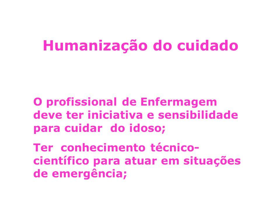 Humanização do cuidado