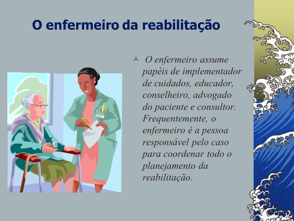 O enfermeiro da reabilitação