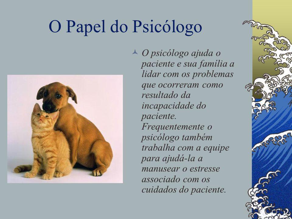 O Papel do Psicólogo