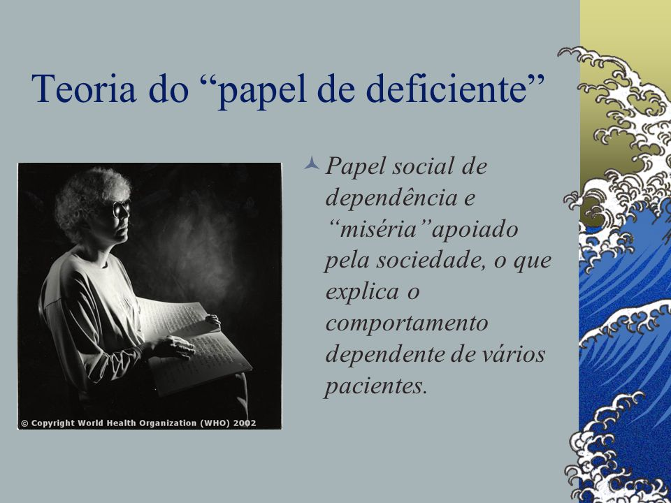 Teoria do papel de deficiente