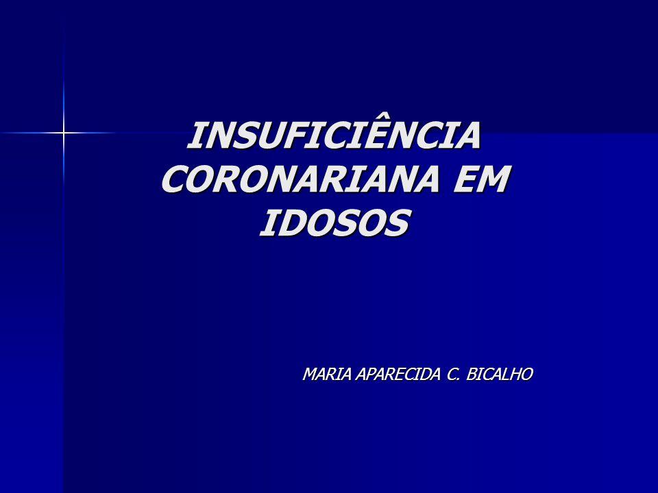INSUFICIÊNCIA CORONARIANA EM IDOSOS